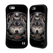 Official Anne Stokes Wolves 2 Night Forest Hybrid Case For Apple Iphone 6 / 6S (A_F_1EBC5)