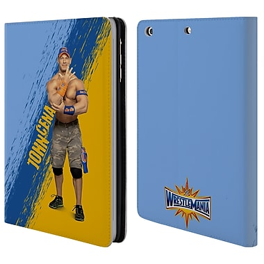 Official WWE Wrestlemania 33 John Cena Leather Book Wallet Case Cover For Apple Ipad Mini 1 / 2 / 3 (D_15_1E989)