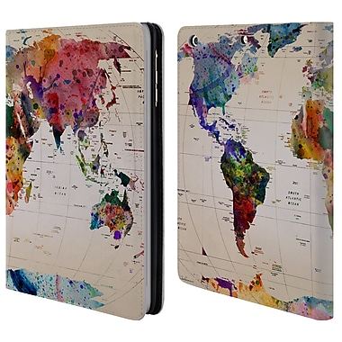 Official Mark Ashkenazi Pop Culture Map Of The World Leather Book Wallet Case Cover For Apple Ipad Mini 1 / 2 / 3 (D_15_1A7C9)