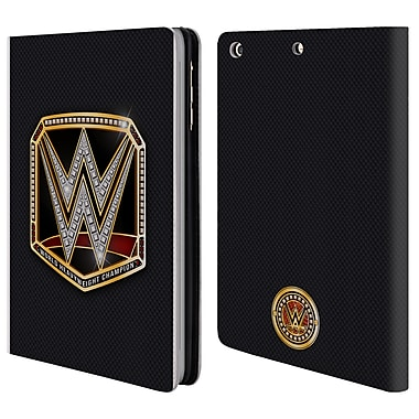 Official WWE Title Belts World Heavyweight Champion Leather Book Wallet Case Cover For Apple Ipad Mini 1 / 2 / 3 (D_15_1E3F2)