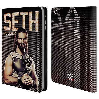 Official WWE Superstars Seth Rollins Leather Book Wallet Case Cover For Apple Ipad Mini 1 / 2 / 3 (D_15_1E2F4)