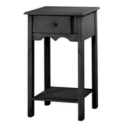 Manhattan Comfort Jay End Table, Black (CS50007)