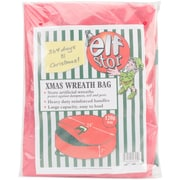 "Elf Stor Red, 24"" x 7"" Premium Wreath Storage Bag  (ES1013)"