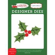 Echo Park Paper A Very Merry Christmas, Holly & Berries Carta Bella Dies (VMC72042)