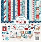 "Echo Park Paper A Perfect Winter Collection Kit, 12"" x 12"" (APWKIT-36016)"