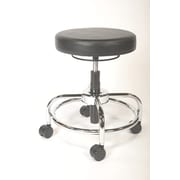 ShopSol Lab Stool with Round Ring Seat Height Control (1010355)