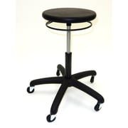 ShopSol Stool with Polyurethane Seat Round Ring Seat Height (1010407)