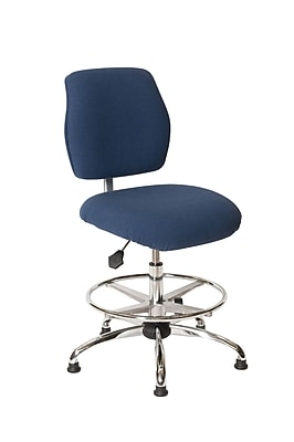 ShopSol ESD Chair High, Economy Blue (1010450)