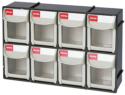 Shuter Parts Storage Flip Out Bin 8 (1010017)