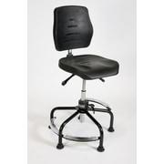 ShopSol Workbench Polyurethane Seat/Back Tubular Base Max-Adjust (3010013)