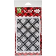 """Echo Park Paper Holiday Plaid Stamps, 4"""" x 6"""" (PC135045)"""