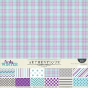 """Authentique Paper Frosty Winter Collection Kit, 12"""" x 12"""" (FWN008)"""