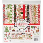 """Echo Park Paper A Perfect Christmas Collection Kit, 12"""" x 12"""" (APCKIT-35016)"""