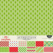 "Authentique Paper Jolly Christmas Collection Kit, 12"" x 12"" (JCM008)"