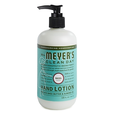 Mrs. Meyer's Clean Day Hand Lotion, Basil, 12 oz. (686591)