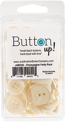 Button Up! Champagne Party Pack Buttons (JABC55-17)