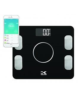 Kalorik Bluetooth Electronic Body Fat Scale with Body Analysis, Black (EBS 42573 BK)