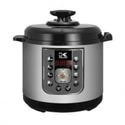 Kalorik Perfect Sear Pressure Cooker, Black and Stainless Steel (EPCK 42941 BK)