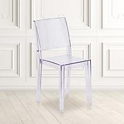Flash Furniture Phantom Series Clear Plastic Ghost Chair (FH12APC)