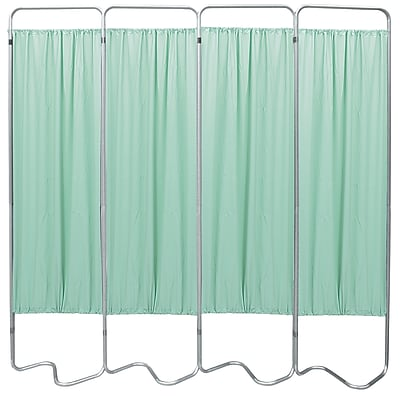 Omnimed Privacy Screen With 4 Green Panels (153054-15)