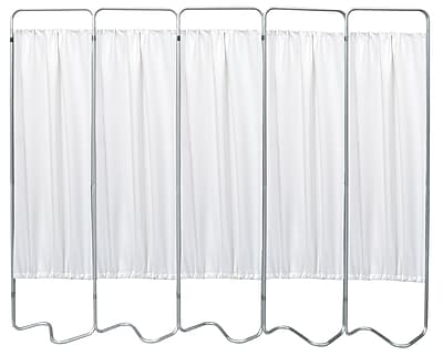 Omnimed Privacy Screen with 5 White Panels (153055-10)
