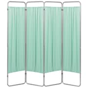 Omnimed Premium Privacy Screen with 4 Green Panels (153094-15)