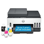HP Smart Tank 7301 Wireless All-in-One Cartridge-free Ink Tank Inkjet Printer, Up to 2 Years of Ink Included (28B70A)