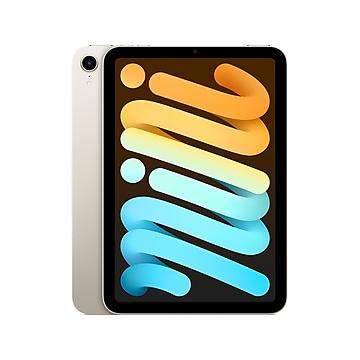 """Apple iPad mini 8.3"""" Tablet, 64GB, Wi-Fi + Cellular, Starlight (MK8C3LL/A)"""