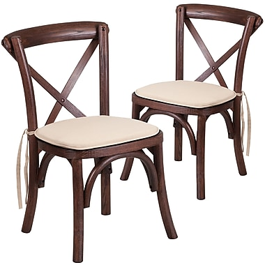 Flash Furniture Wood Kid Cross Chair 2 (2XUXMAHKIDNTC)