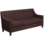 "Flash Furniture 32.5"" Fabric Sofa Brown(CHUS173030BN)"