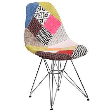 Flash Furniture Milan Fabric Chair Chrome (2FH130CCV1D)