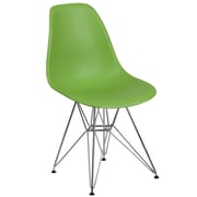 Flash Furniture Plastic Chair 2 (2FH130CPP1GN)