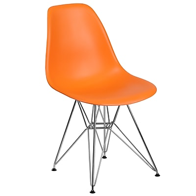 Flash Furniture Plastic Chair 2 (2FH130CPP1OR)