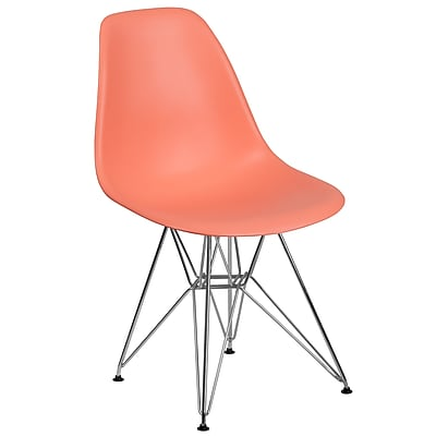 Flash Furniture Plastic Chair 2 (2FH130CPP1PE)