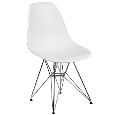 Flash Furniture Plastic Chair(FH130CPP1WH)