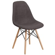 Flash Furniture Gray Fabric Chair Wood (2FH130DCV1FC100)