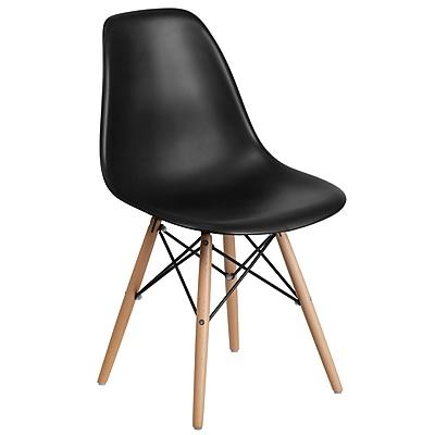 Flash Furniture Plastic Chair(FH130DPPBK)