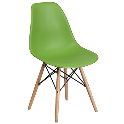Flash Furniture Plastic Chair 2 (2FH130DPPGN)