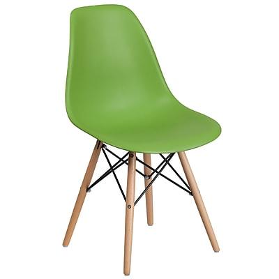 Flash Furniture Plastic Chair(FH130DPPGN)