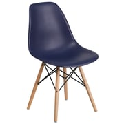 Flash Furniture Plastic Chair 2 (2FH130DPPNY)