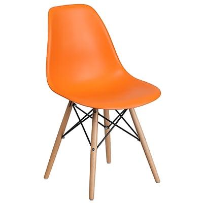 Flash Furniture Plastic Chair 2 (2FH130DPPOR)