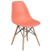 Flash Furniture Plastic Chair(FH130DPPPE)