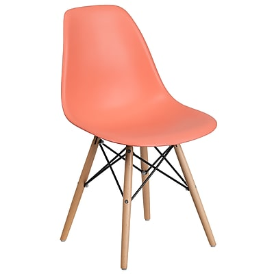 Flash Furniture Plastic Chair 2 (2FH130DPPPE)