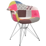 Flash Furniture Milan Fabric Chair Chrome (2FH132CCV1D)