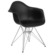 Flash Furniture Plastic Chair(FH132CPP1BK)