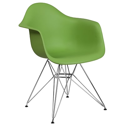 Flash Furniture Plastic Chair 2 (2FH132CPP1GN)