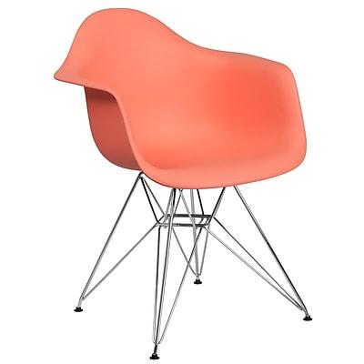 Flash Furniture Plastic Chair 2 (2FH132CPP1PE)