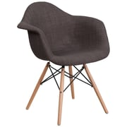Flash Furniture Gray Fabric Chair Wood (2FH132DCV1FC100)