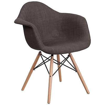 Flash Furniture Gray Fabric Chair Wood (2FH132DCV1FC100)