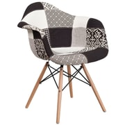 Flash Furniture Turin Fabric Chair Wood (2FH132DCV1PK4)